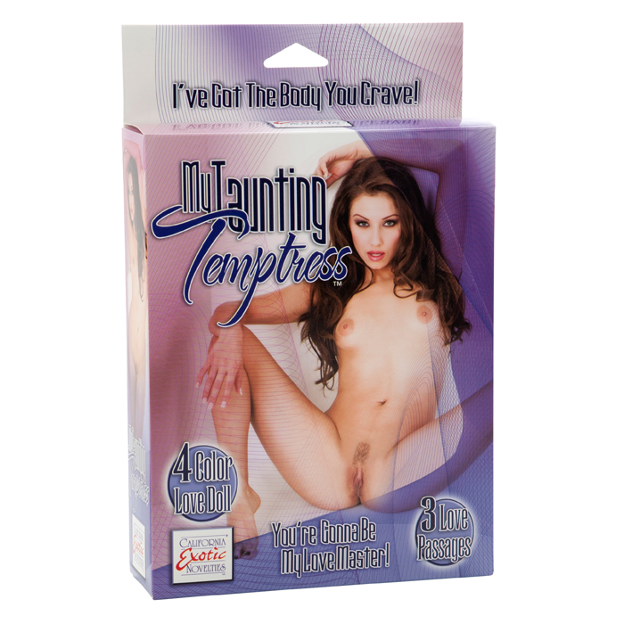SE1929-01-3  California Exotics My Taunting Temptress Love Doll