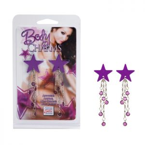 SE2613-40-2 Body Charms Star Purple SALE PRICED WHILE STOCK LASTS