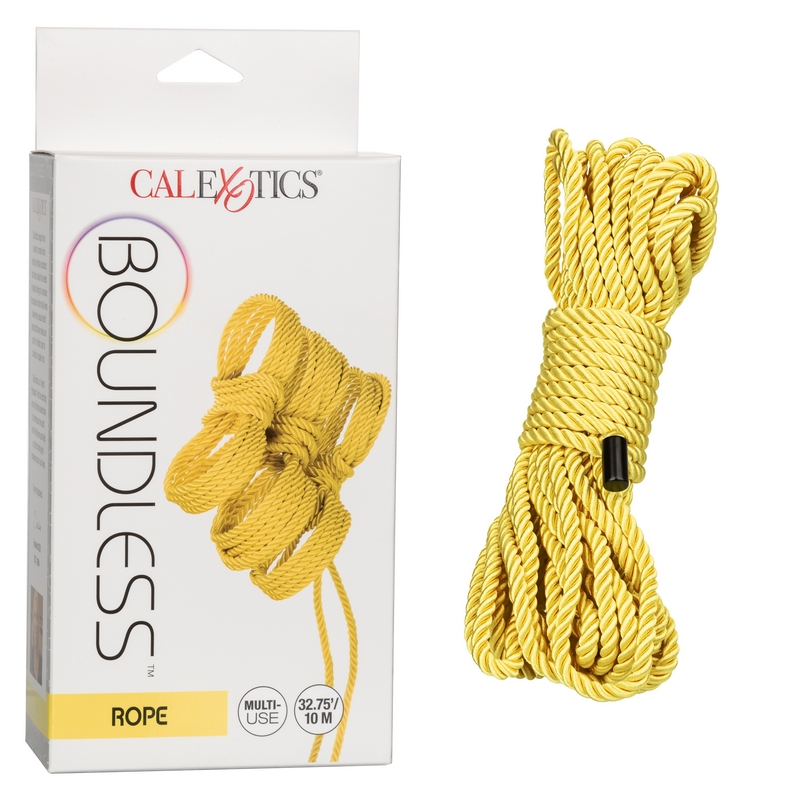 NEW SE2702-96-3 California Exotics  Boundless Rope Yellow