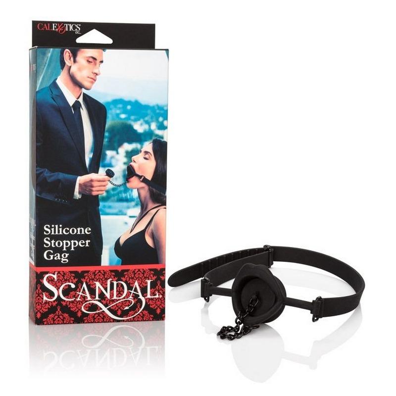 SE2712-09-3 California ExoticsScandal® Silicone Stopper Gag