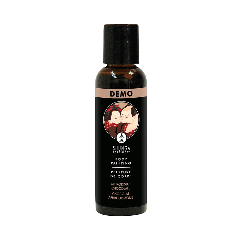 SH17000 Shunga Edible Body Paint 60 ml Milk Chocolate DEMO 1 PER STORE ONLY NO FURTHER DISCOUNTS APPLY