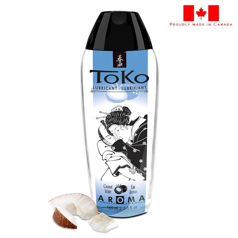 SH6410 Shunga 5.5 oz. Toko Lube Coconut Thrills