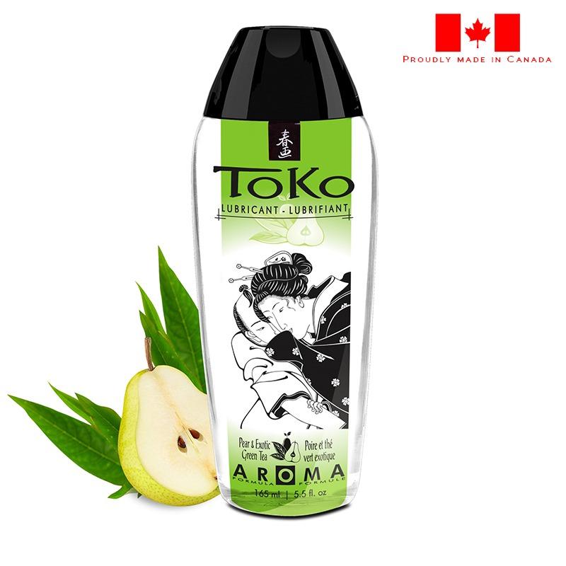 SH6411 Shunga 5.5 oz. Toko Lube Pear & Green Tea