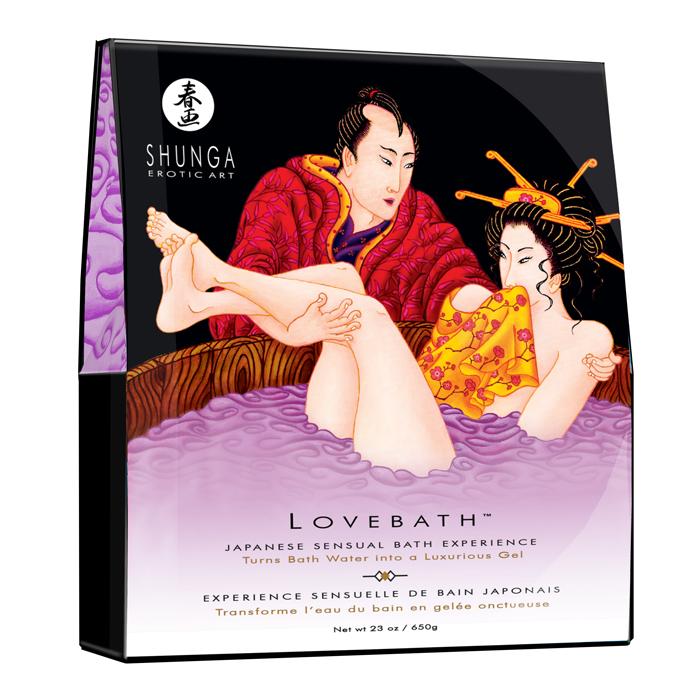 SH6802 Shunga  LoveBath Sensual Lotus