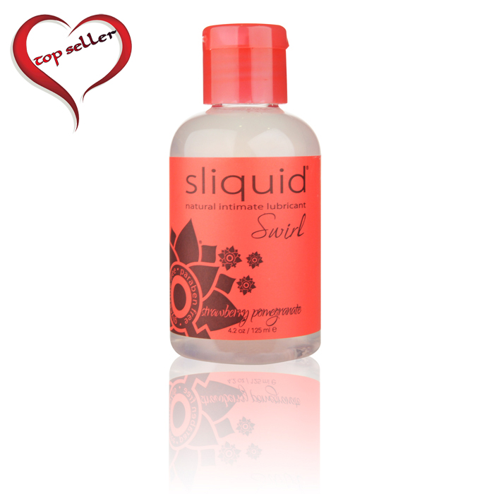 SL014 Sliquid 4.2 oz Sliquid Swirl Strawberry Pomegranate