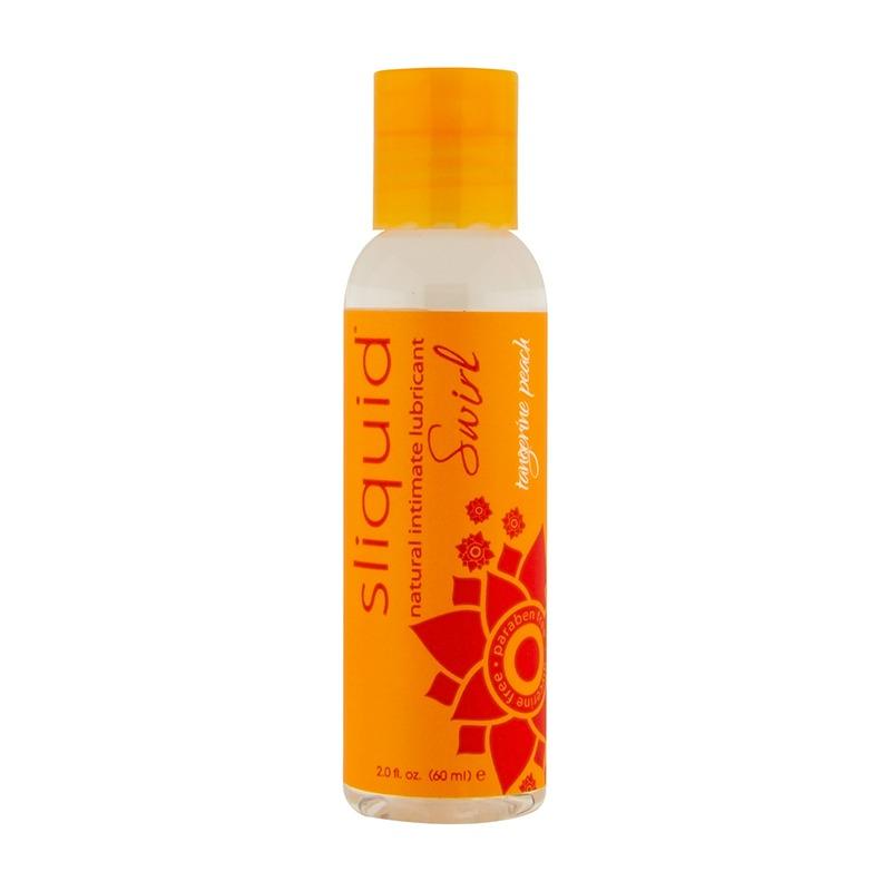 SL027 Sliquid 2 oz Swirl Tangerine Peach