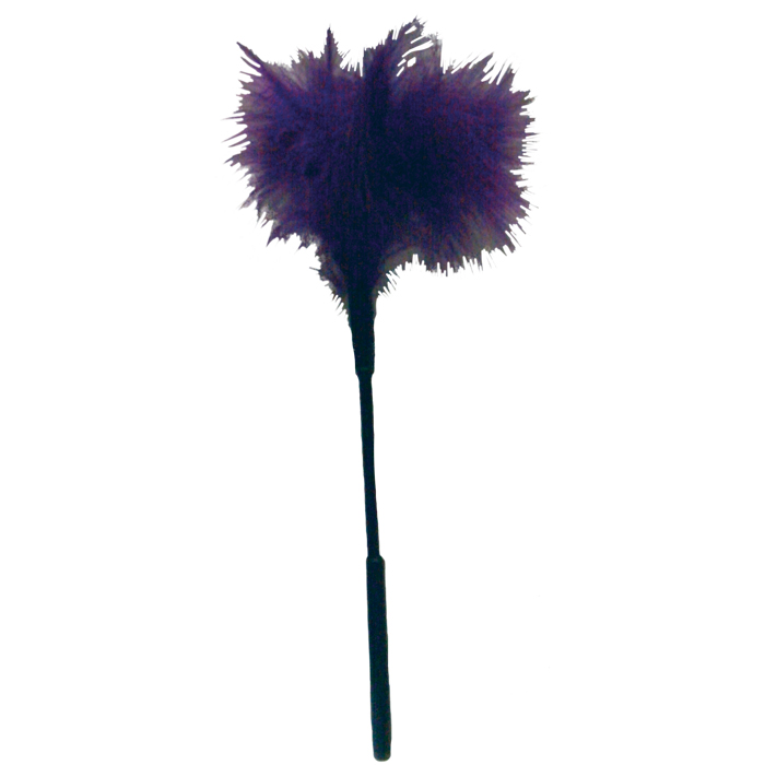 SS100-71 Sex and Mischief  Feather Tickler Purple