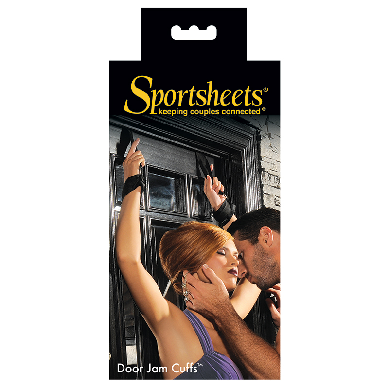 SS324-01 Sportsheets Door Jam Cuffs