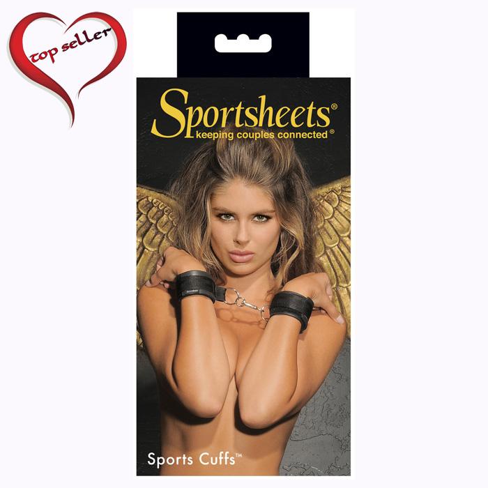 SS400-01 Sportsheets  Sportscuffs Black
