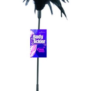 SS720-01 Sportsheets Black Starburst Tickler