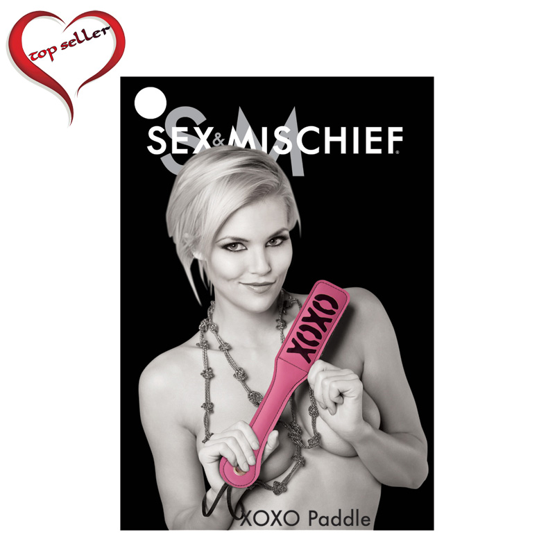 SS921-16 Sex and Mischief  XOXO Paddle Pink