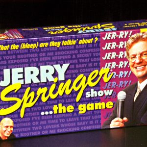 TDC1340Jerry Springer Show... The Game SALE PRICEDWHILE STOCK LASTS