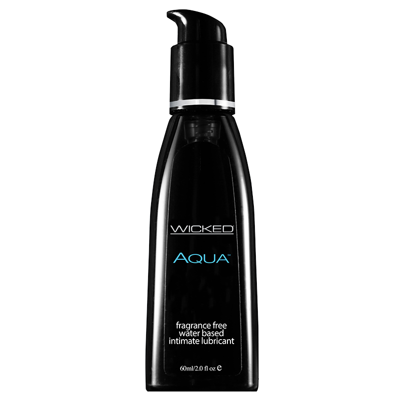 WC90102 Wicked Sensual Care 2 oz Aqua Waterbased Lube
