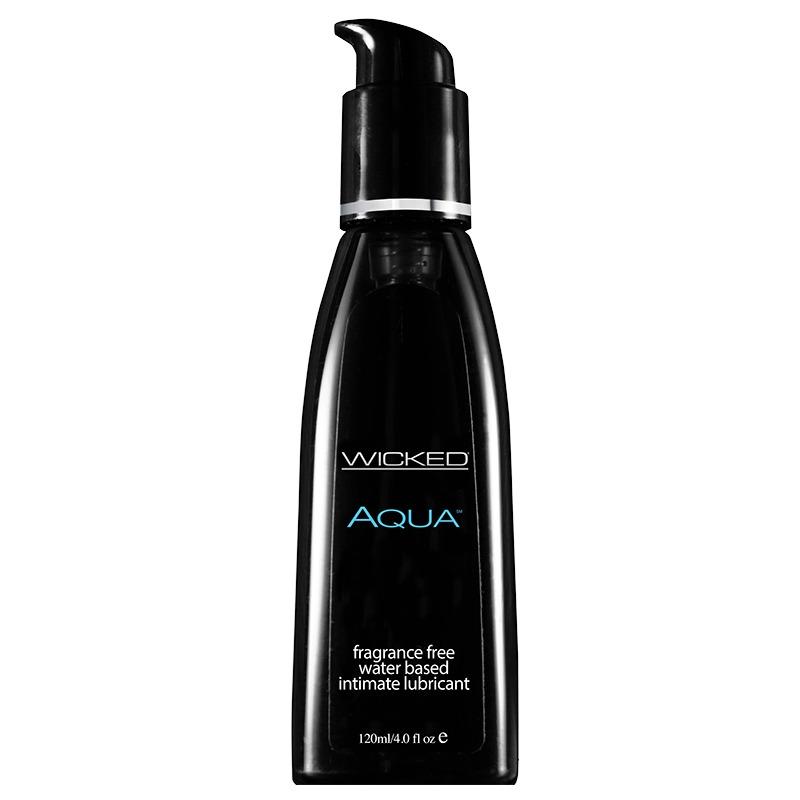 WC90104 Wicked Sensual Care 4 oz Aqua Waterbased Lube