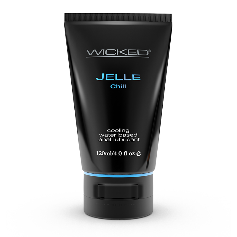 WC90228 Wicked Sensual Care 4 oz Jelle Anal Lube Chill