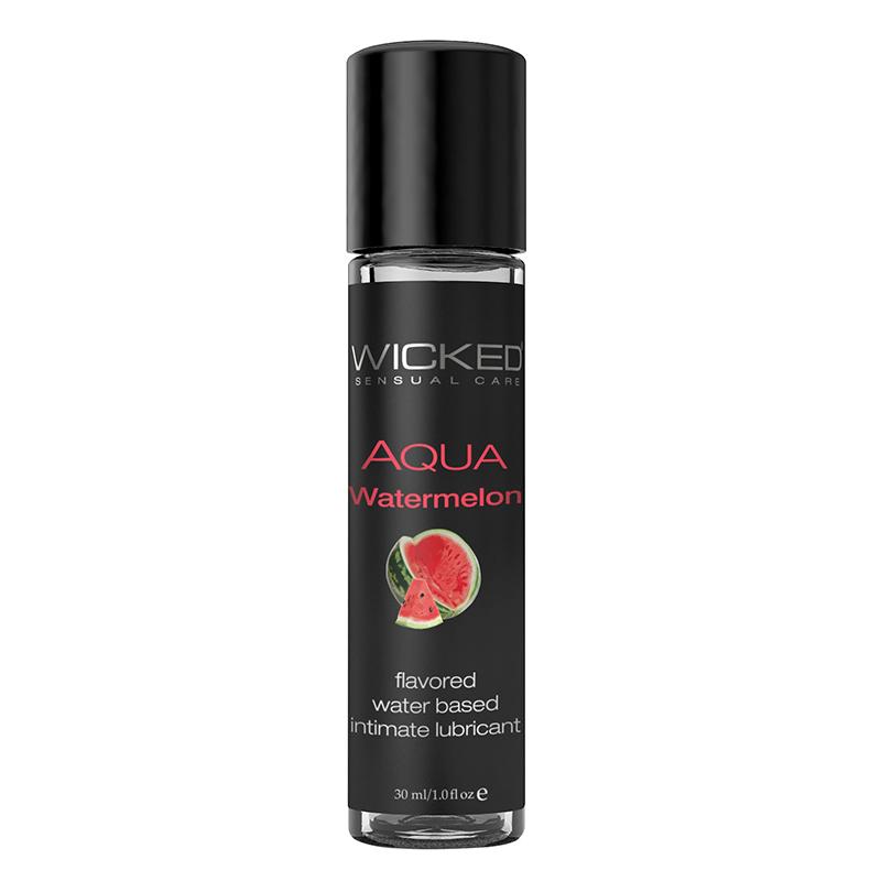 WC90421 Wicked Sensual Care 1 oz Aqua Lube Watermelon