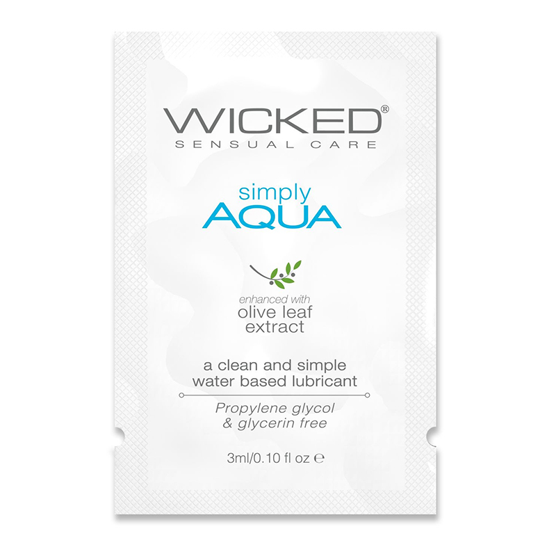 WC91100 Wicked Sensual Care 3 ml Simply Aqua Packette
