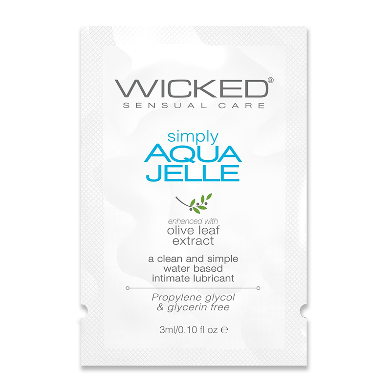 WC91110 Wicked Sensual Care 3 ml Simply Aqua Jelle Packette