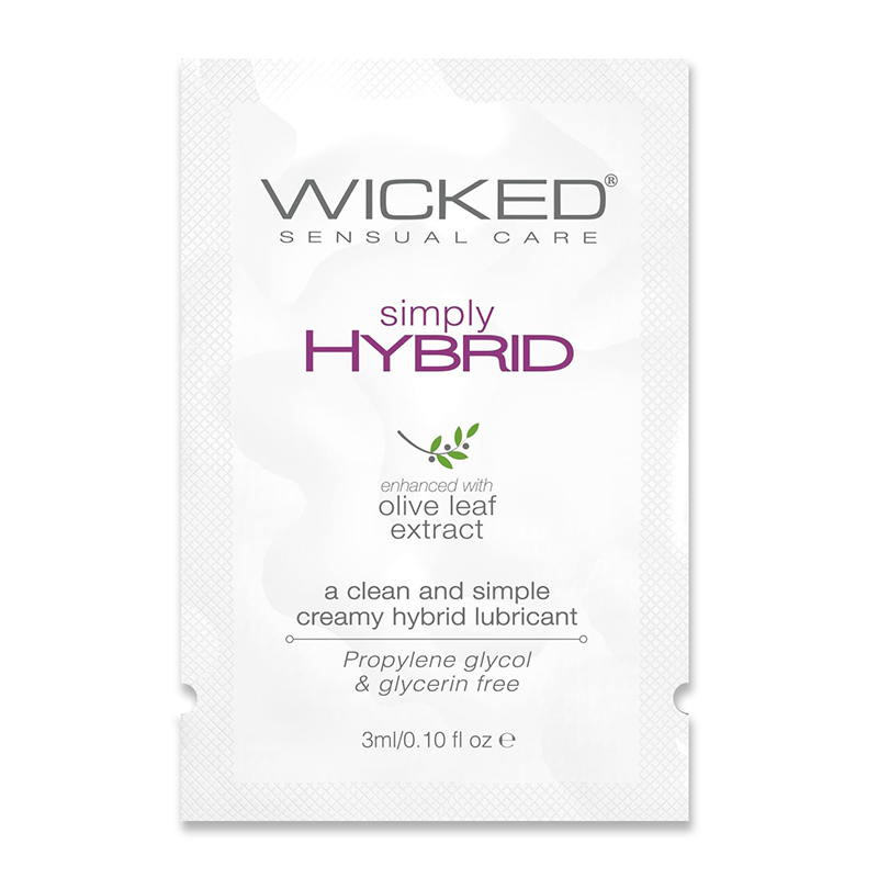 WC91200 Wicked Sensual Care 3 ml Simply Hybrid Packette
