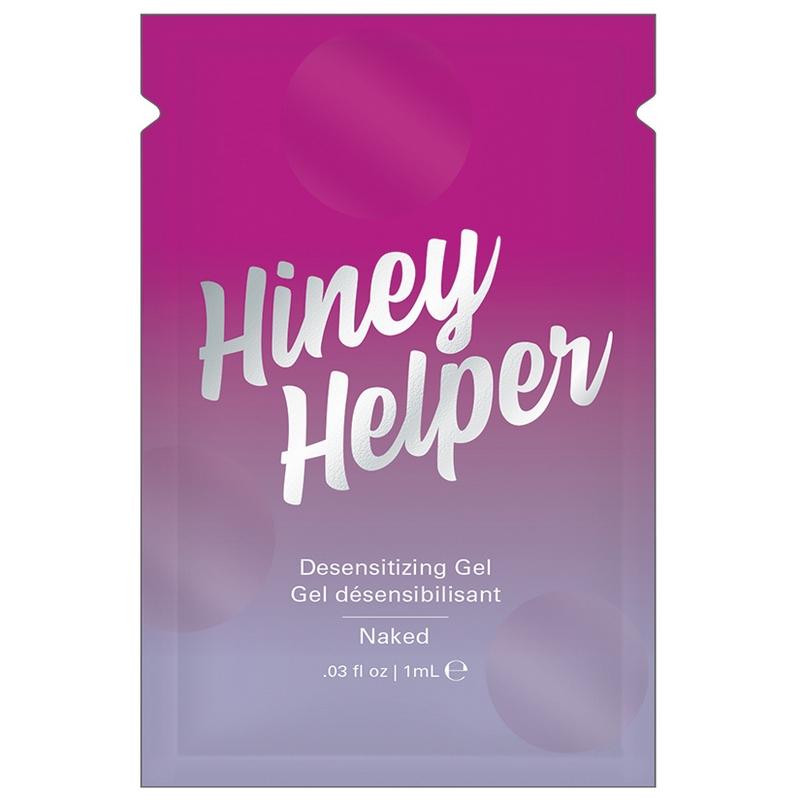 NEW JEL7001-01 Jelique Products 1 ml Hiney Helper Gel Foil Pac