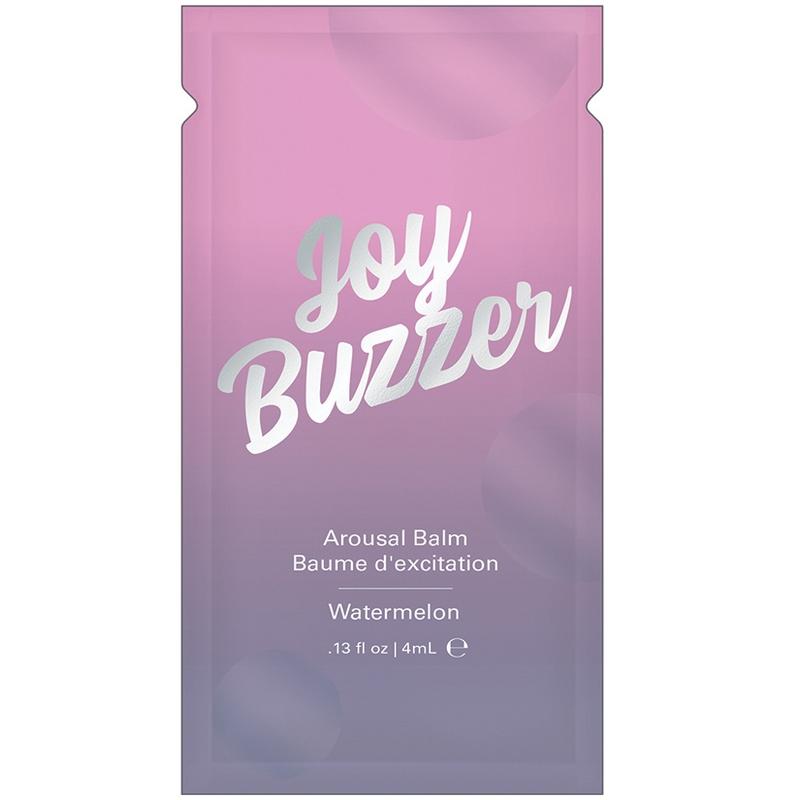 NEW JEL7005-05 Jelique Products 4 ml Joy Buzzer Arousal Balm Watermelon Foil Pac