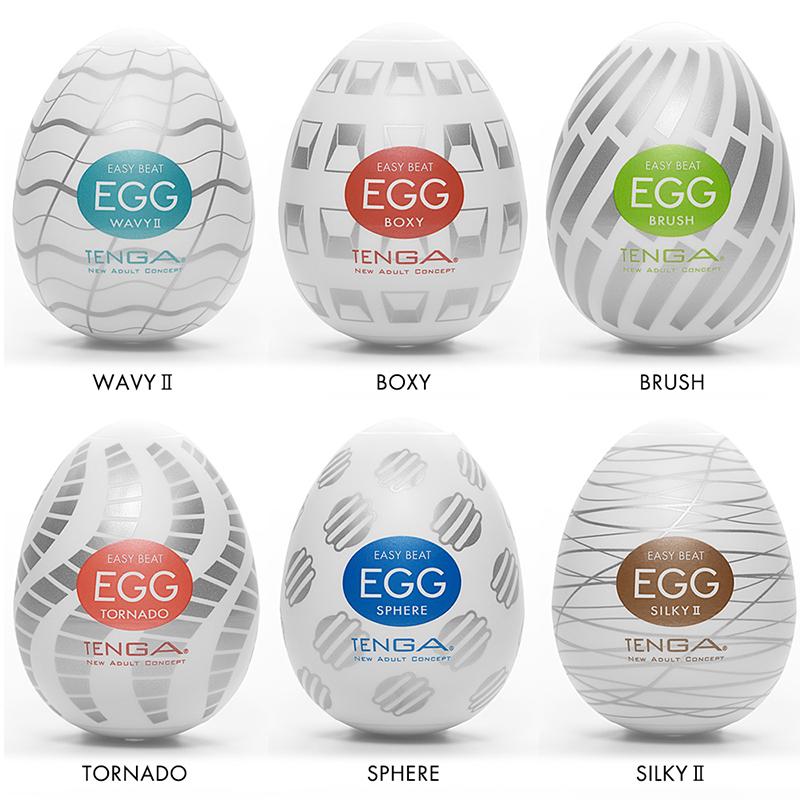 NEW TN1037 Tenga Egg 6 Standard Package