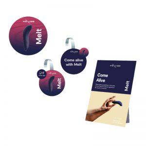 NEW WE4612 We-Vibe Melt Midnight Blue Retail Kit